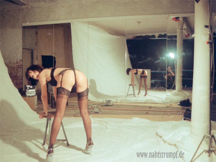 Model Bea shooting studio