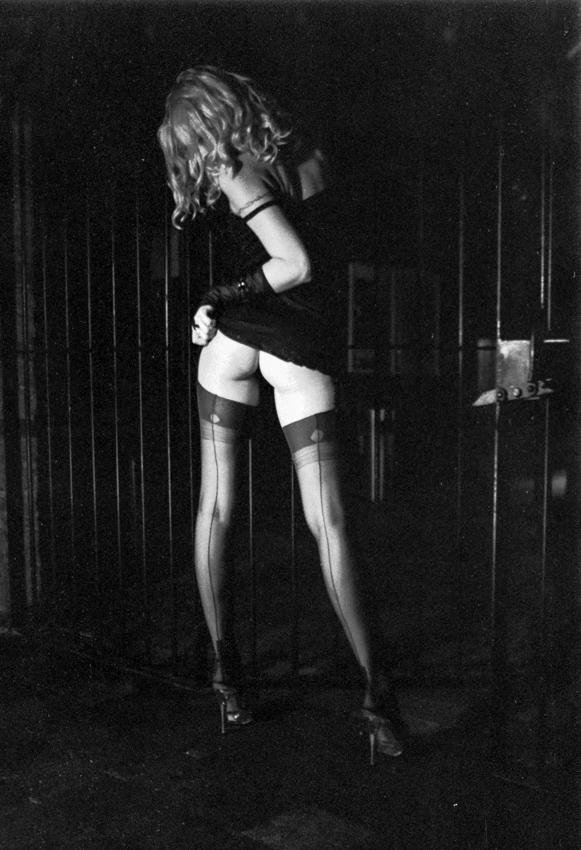 Model Tracy Gitter Nylons Moritzbastei