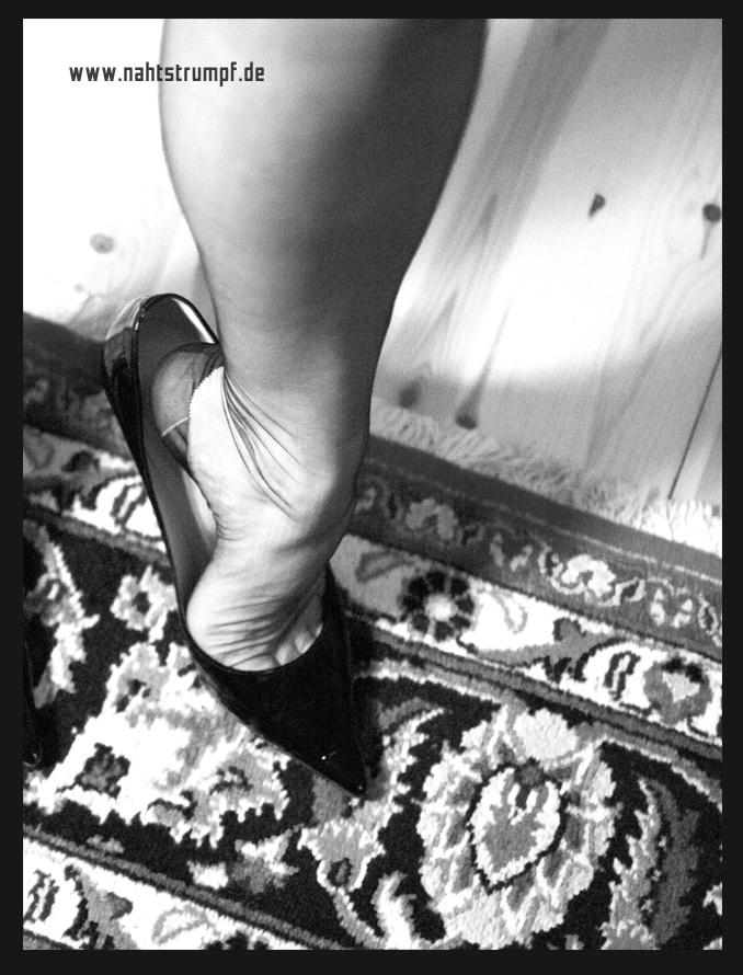 Nice stockinged legs