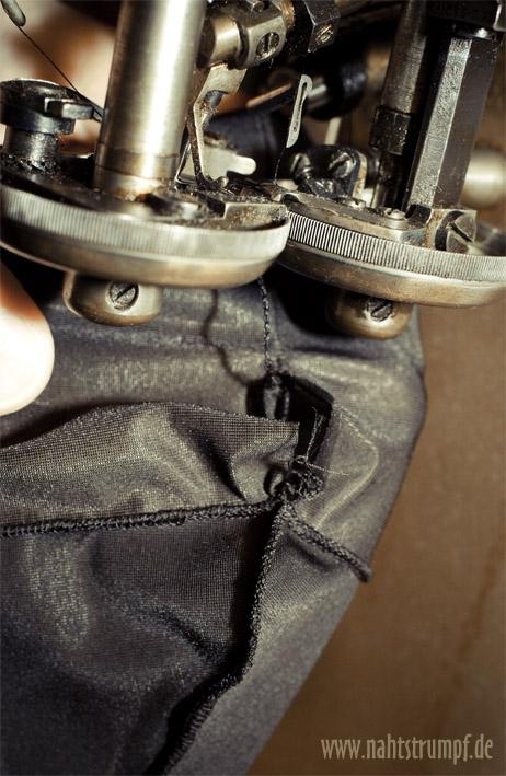 Sewing machine AG Nahtstrumpf run resist stockings