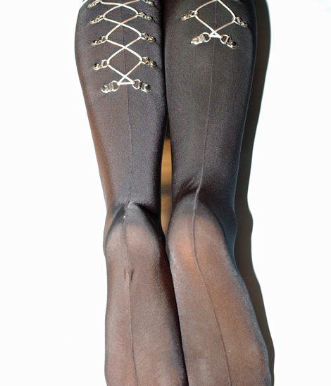 Stockings lacing