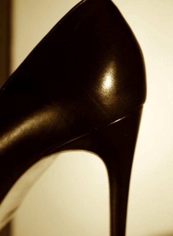 Detail Rupert Sanderson heels