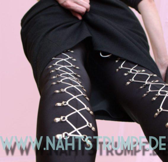 Lacing stockings